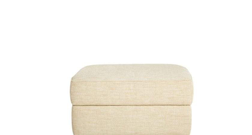 Chiana Small Storage Footstool Leather Footstools