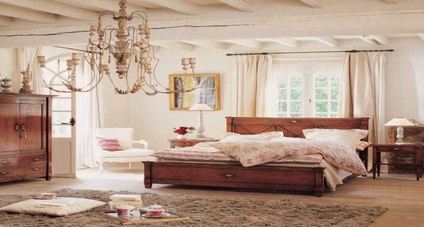 Chic Bedrooms Vintage Shabby Bedroom Decor Country