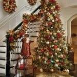 Chic Easy Stair Decoration Christmas Trends