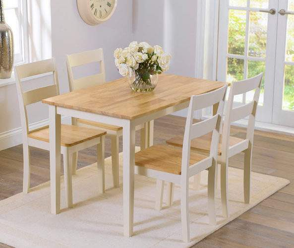 Chichester Oak Painted Piece Dining Table Set