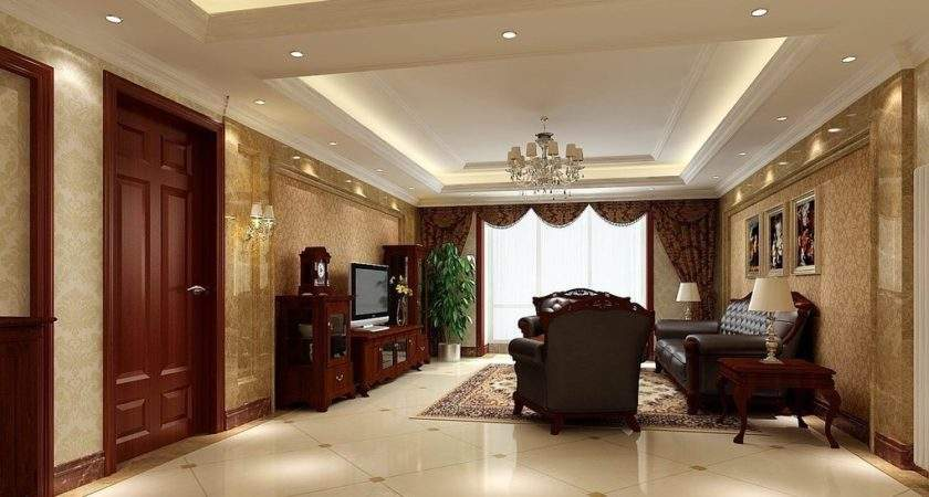 Chinese Style Furniture Living Room Interior Design