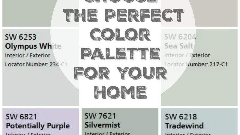 Choose Perfect Color Palette Your Home