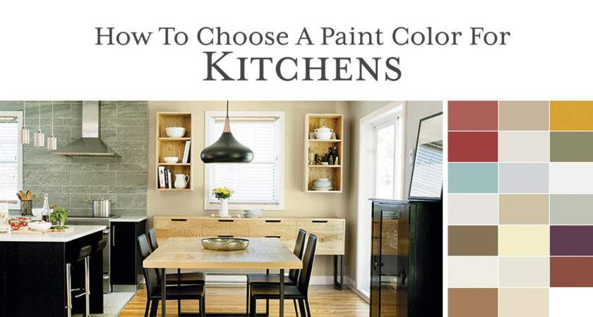 Choose Right Paint Color Kitchen