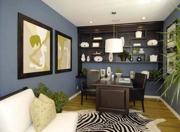 Choosing Color Your Office Finishing Touches