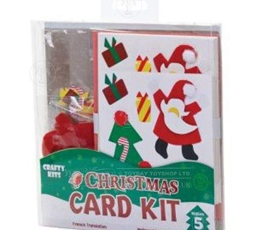 Christmas Card Making Kit Toys Seasonal