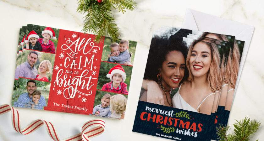 Christmas Cards Create Personalised