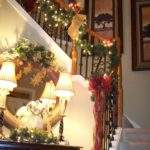 Christmas Deco Work Pinterest Staircase