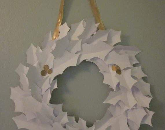 Christmas Decoration Ideas Using Paper