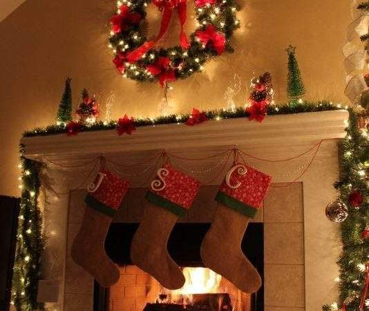Christmas Mantel Decorating Ideas Design Trends Blog