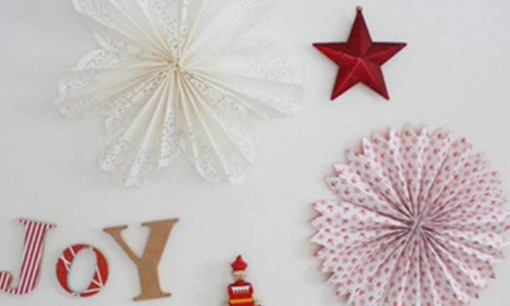 Christmas Paper Decorations Kidspot