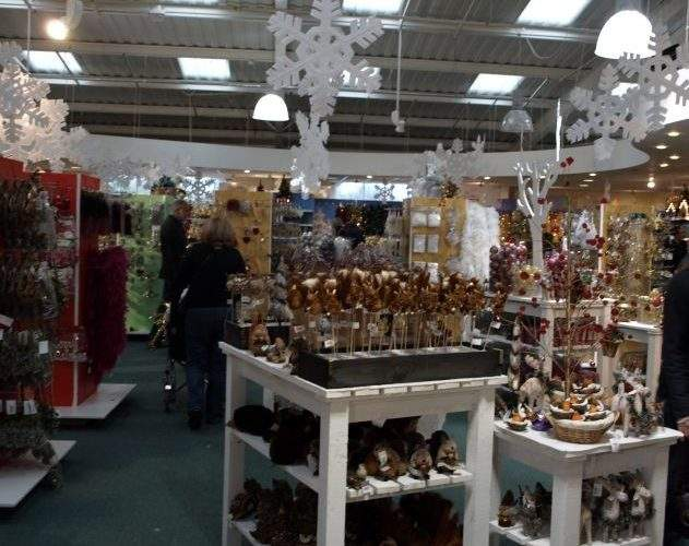 Christmas Shopping Dobbies Atherstone Garden Centre