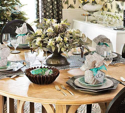 Christmas Table Decorations Southern Living