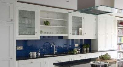 Classic Blue White Kitchen Traditional Ideas