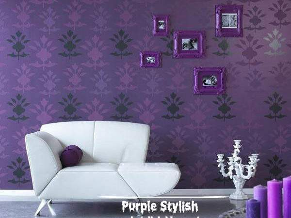 Classic Design Dark Purple Frames