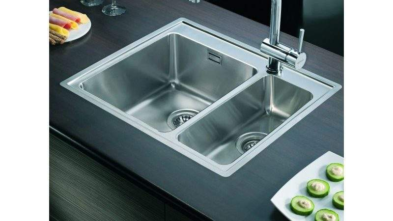 Clearwater Pella Bowl Kitchen Sink Top Flush Mount