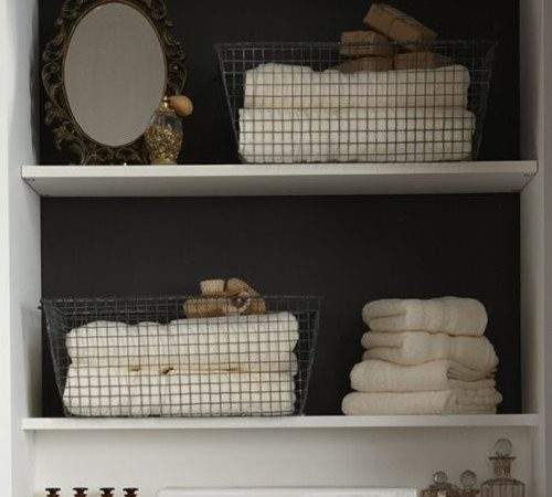 Clever Bathroom Storage Content Cottage