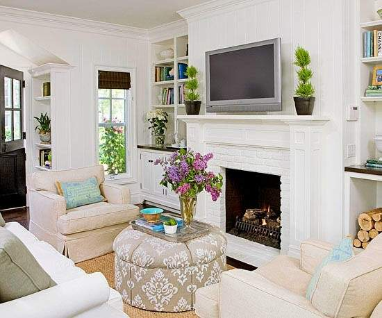 Clever Furniture Arrangement Tips Small Living Rooms
