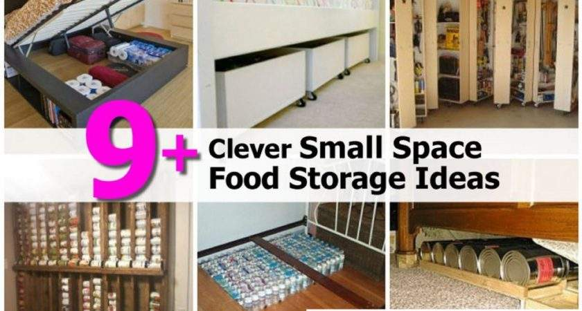 Clever Small Space Food Storage Ideas