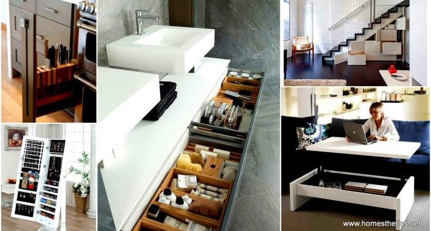 Clever Storage Ideas Enlarge Your Space