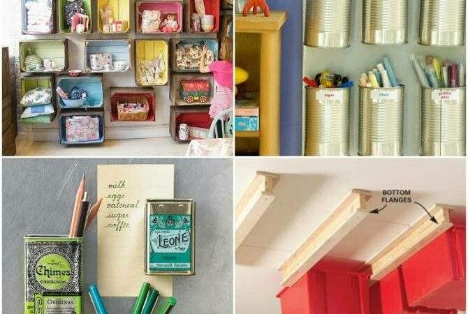Clever Storage Ideas Small Homes Organizing