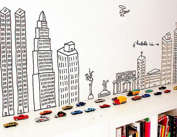 Clever Ways Display Your Books Handmade