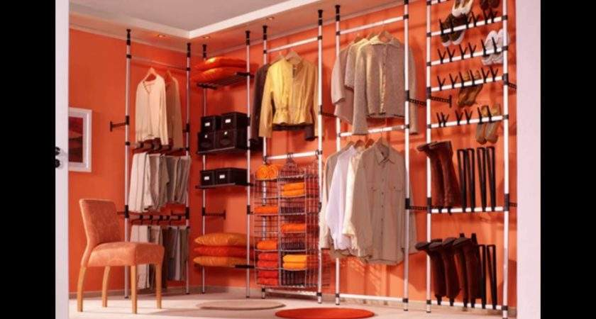 Clothes Storage Solutions Small Bedrooms Youtube