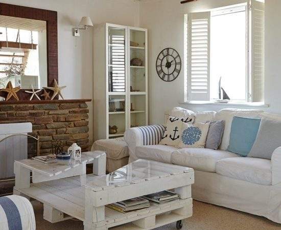 Coastal Interiors Living Rooms Housetohome