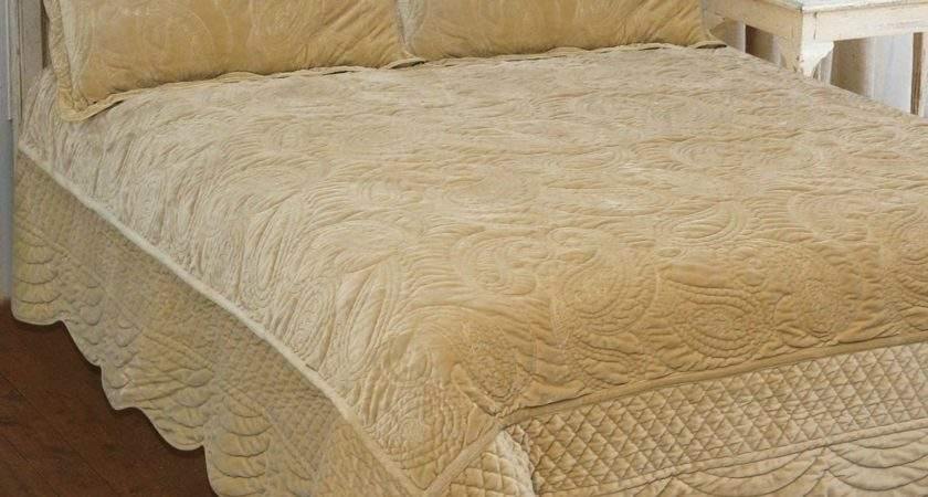Cocoon Honey Velvet Our Bedspreads Throws Quilted