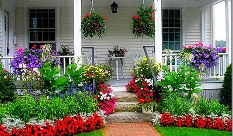Collection Flower Beds Front House