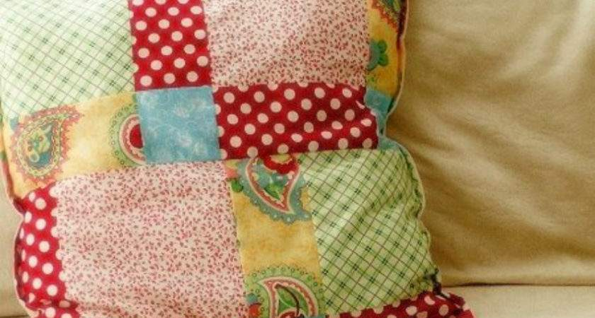 Color Pattern Creativity Stylish Patchwork Pillows