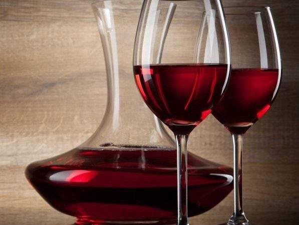 Colored Wine Glass Red Glasses