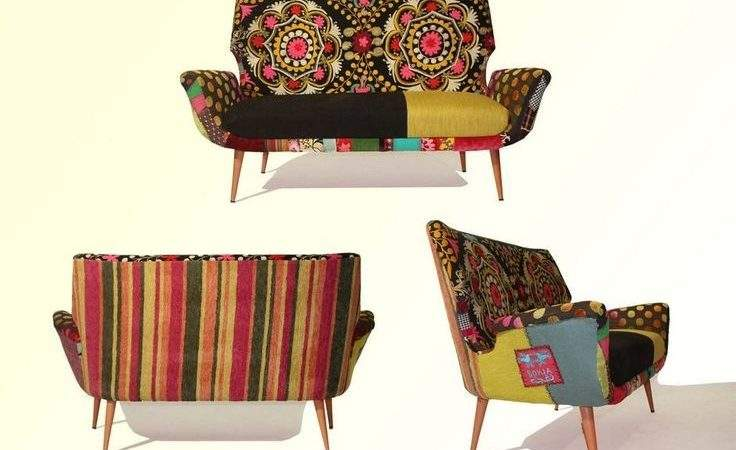 Colorful Bohemian Furniture Pinterest