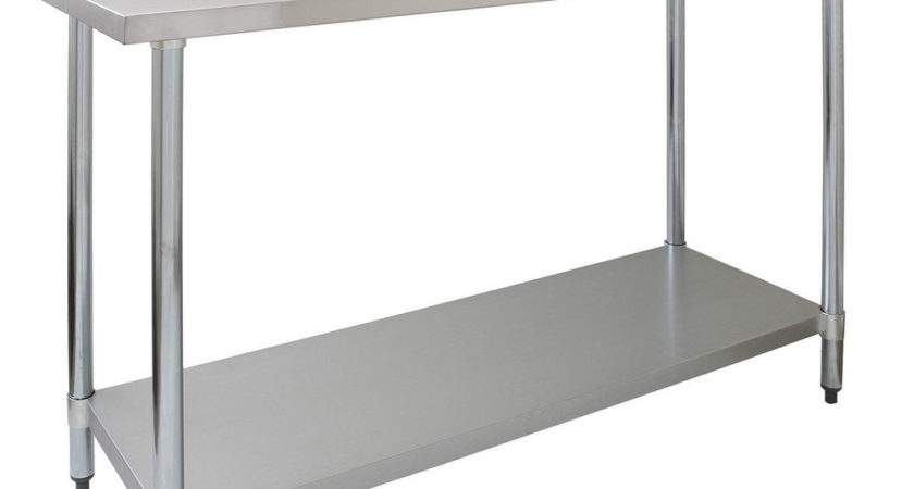 Commercial Table Stainless Steel Kitchen Prep Work