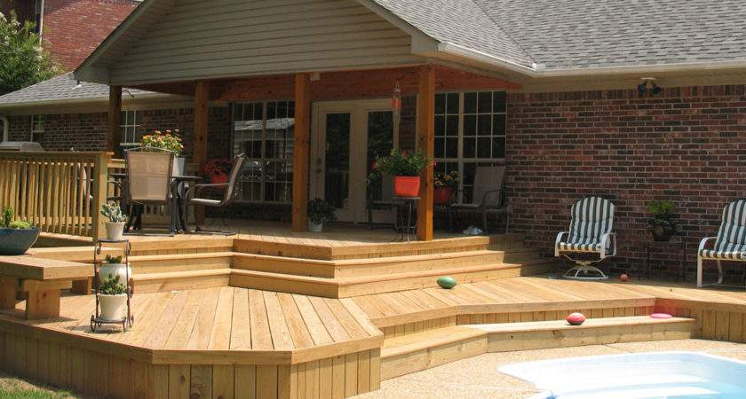Construction Contractor Decks Out Buildings Additions