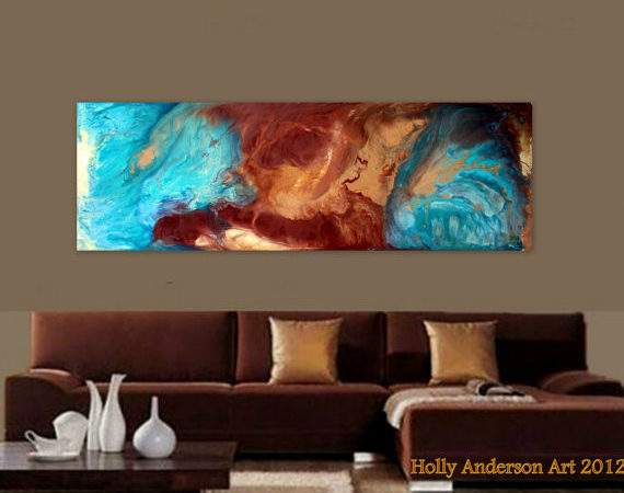 Contemporary Abstract Art Modern Spaces Pure Bliss