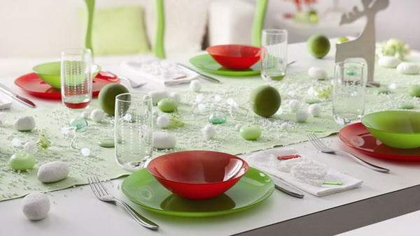 Contemporary Christmas Table Decorations Stylish Eve