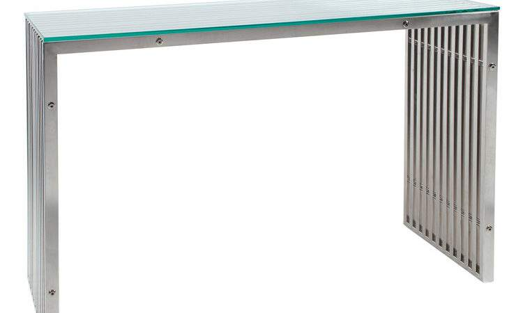 Contemporary Glass Furniture Steel