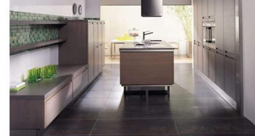 Contemporary Kitchen Flooring Tile