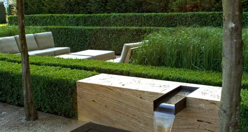 Contemporary Landscapes Modern Gardens Inspiration