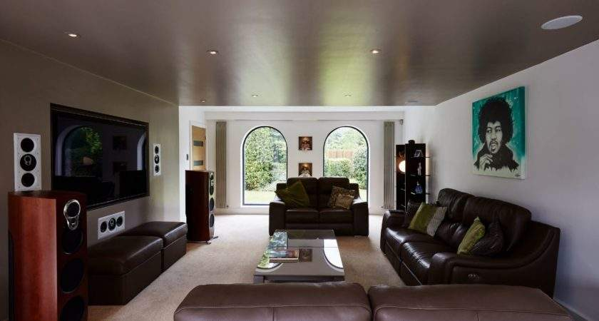 Contemporary Lounge Design Transform Architects House