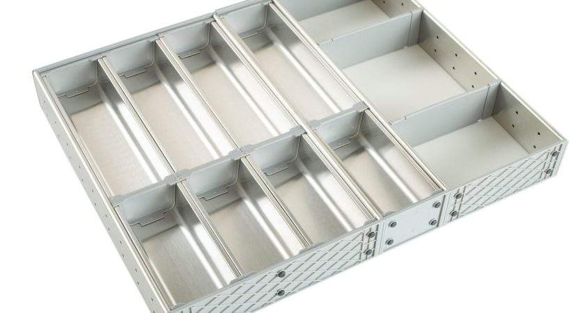 Cooke Lewis Stainless Steel Effect Kitchen Utensil Tray