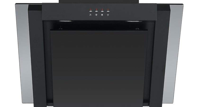 Cookology Ang Black Angled Extractor Fan
