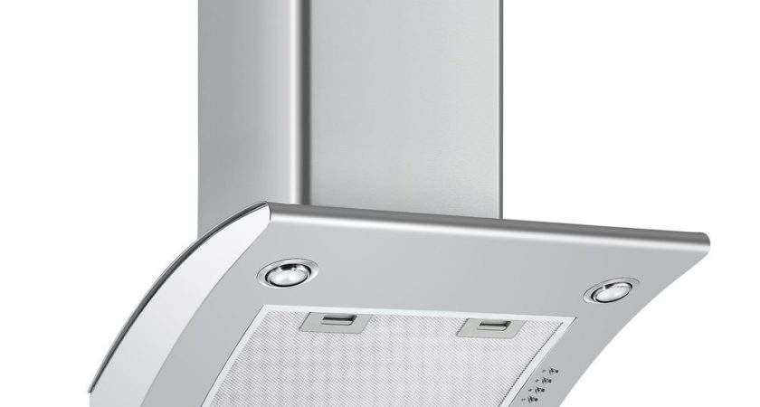 Cookology Arch Extractor Fan Angled Stainless