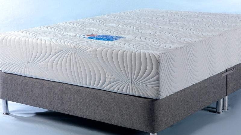Cool Blue Memory Foam Mattress Single Double King Super
