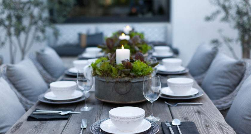 Cool Candle Holders Patio Contemporary Outdoor Dining