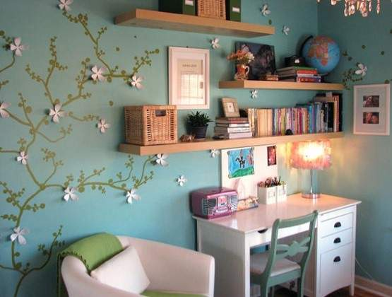 Cool Decorating Shelving Ideas Small Space Home