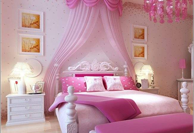 Cool Ideas Pink Girls Bedrooms Home Design