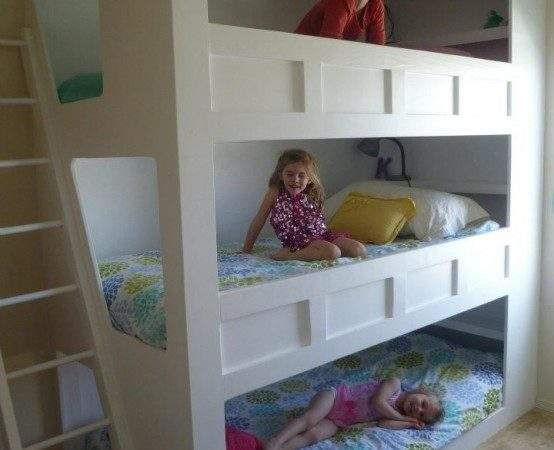 Cool Practical Bunk Beds More Than Two Kids