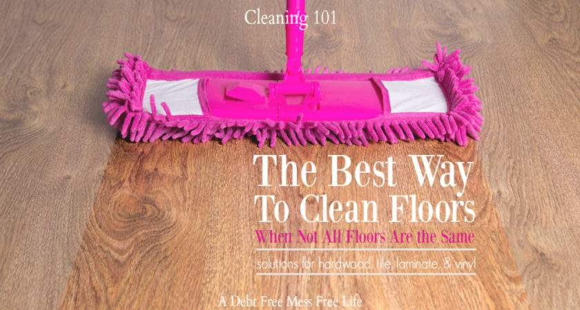 Correct Way Clean Floors Cleaning Solutions