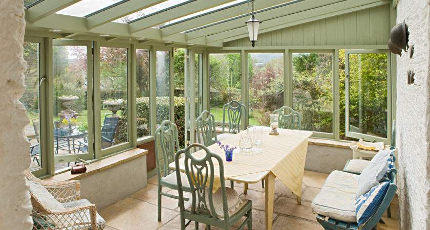 Cottage Conservatory Interiors Photography Anthony